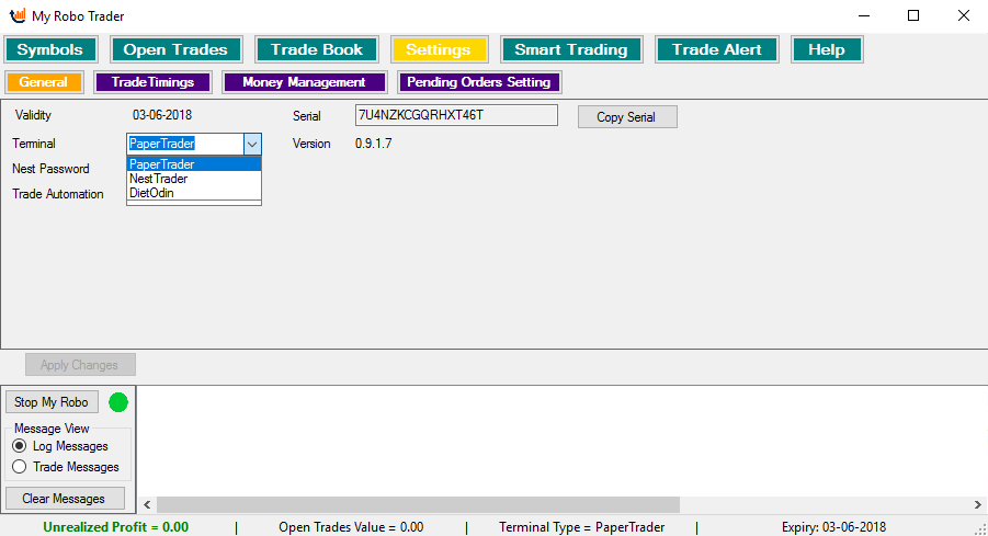 My Robo Trader - nse realtime data free, amibroker data feed